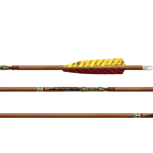 Easton AXIS TRADITIONAL(5mm)猎箭(带头尾)