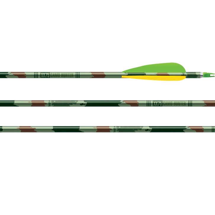 Easton XX75 CAMO HUNTER猎箭(带头尾)