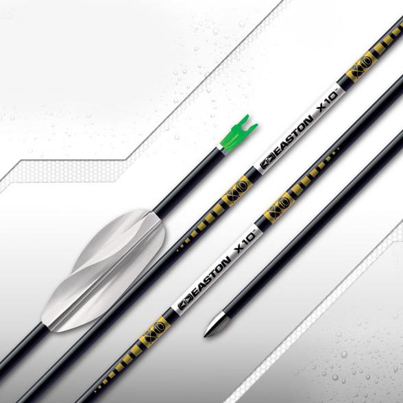 Easton X10 射准箭(裸杆)