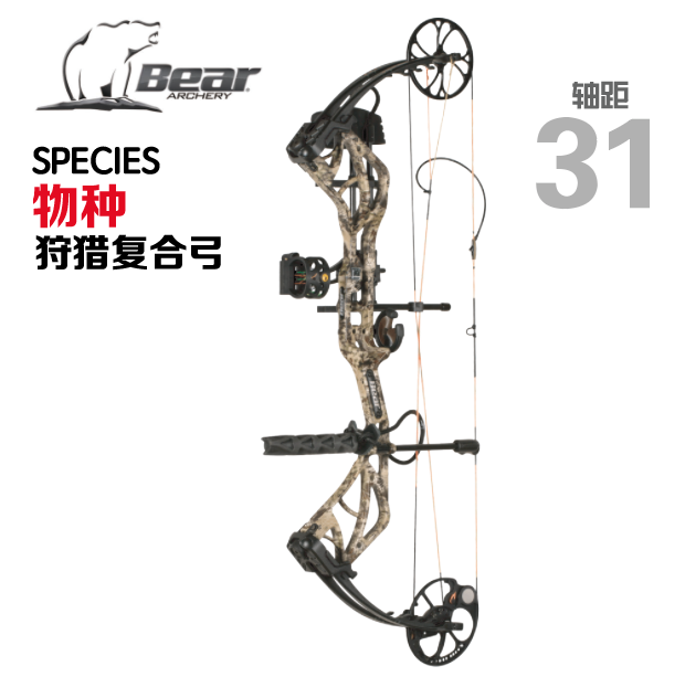 Bear SPECIES  物种 复合弓 套装