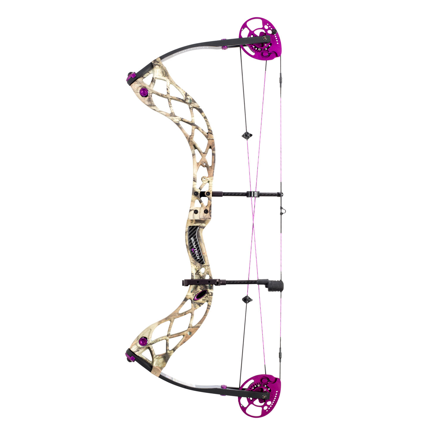 Bowtech Carbon Rose 碳玫瑰 裸弓 复合弓